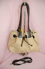 ALLA Leather Art Snake Embossed Empire Shoulder Bag/Handbag~EUC