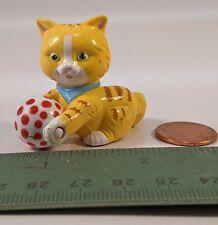 Mary Engelbreit miniature tabby cat kitten with ball