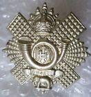 Badge- WW1 Highland Light Infantry Cap Badge KC (WM, ORG*) 2 LUGS