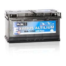 agm-batteria BA100 100Ah 12V 1000A home-top/roulotte/CARAVAN/ Solar NUOVO