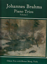 3LP BOX SET-BRAHMS-PIANO TRIOS VOL1-MHS 1980-ODEON TRIO-RAINER MOOG vla VG+