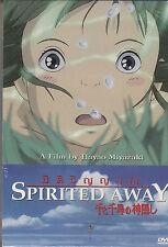 Spirited Away Studio Ghibli Movie Sub Eng <Brand New DVD>