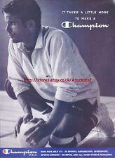 Champion USA Clothing 1996 Magazine Advert #3997