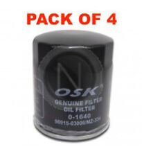 OSAKA OIL FILTER OZ334 INTERCHANGEABLE WITH RYCO Z334 (BOX OF 4)