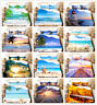 3D Ocean Beach Sunshine Starfish Comforter/Quilt/Doona Cover Set Pillowcase