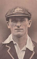 Vintage Cricket Post Card Clarence Grimmett