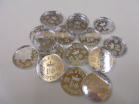 Lucky Sixpence personalised x 50  Wedding Favours and Table Decorations