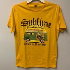 Official Sublime Stand By Your Van California Mustard Tee
