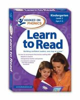 Learn to Read Kindergarten Level 2 by Hooked on Phonics