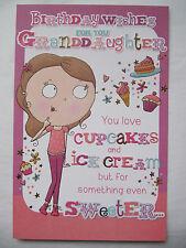 SUPER colorato in rilievo divertente per voi nipote COMPLEANNO greeting card