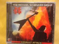 MICHAEL. SCHENKER  GROUP.         ASSAULT. ATTACK.     COMPACT DISC