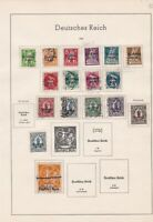germany 1920 stamps page ref 17708