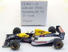 Tameo 1/43 Scale built kit - 15AUG13 Williams FW15C Hungarian GP 1993 D Hill