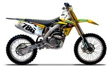 Yoshimura Suzuki AMA Graphics Kit RMZ 250 2007 - 2009 James Stewart Motocross