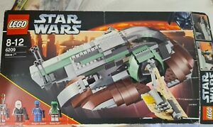 USED LEGO Star Wars Boba Fett's Slave I 6209 Complete - smaller than 75060 UCS