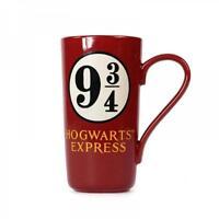 Harry Potter Latte Macchiato Gleis 9 3/4 Hogwarts Express Tasse Kaffeebecher rot