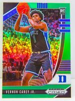 Vernon Carey Jr. RC 2020-21 Panini Prizm Draft Picks Green Prizm Rookie Card #27