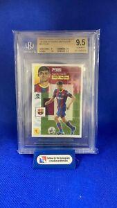 2020-21 Panini La Liga Santander Este Stickers Ultimos Fichajes Pedri 55 BGS 9.5