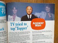 1979 Philadel Bulletin TV Time(KATE JACKSON/ANDREW STEVENS/JACK WARDEN/ED ASNER