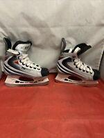 Bauer Nike Vapor lX Hockey Skates Lightspeed Pro Tuuk Fasteel kids size Y10