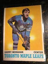 O-PEE-CHEE HOCKEY 1970-71 GARRY MONAHAN CARD 112 TORONTO MAPLE LEAFS
