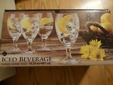 Libbey Beverage Glasses - 8 - NEW