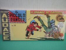 Collana AUDACE il Piccolo Ranger Striscia Fumetto  Anastatica  2°serie N 13 CU
