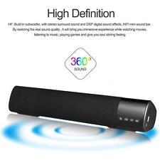 Wireless Bluetooth TV Speaker Soundbar Home Theater Stereo Sound Bar for Phones