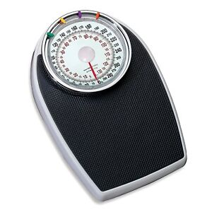 Taylor Dial Bathroom Scale Weight  300lb New White Black model 2020BT