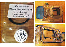 Replacement O-ring & Silicone Grease Kit for Canon wp-dc5 Underwater Dry Bag