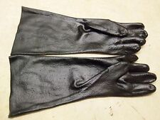 """18 """" Rubber Gauntlet Gloves Snaring Traps Trapping Raccoon Fox Bobcat"""