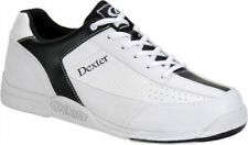 DEXTER RICKY III WHITE/BLACK MENS BOWLING SHOES SIZE 15