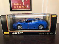 Maisto 1992 Bugatti EB110 Die Cast 1:18 Scale Special Edition NEVER OPENED!!!!