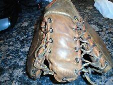 "Vintage Franklin Left Handed Baseball Mitt, Professional Model "" Sacker"""
