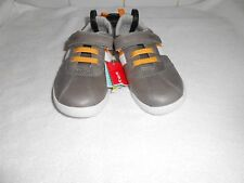 M&S INFANT WALKMATES KIDS BROWN TRAINERS SIZE UK 9 BNWT