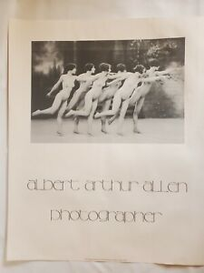 Albert Arthur Allen Print Art Deco Poster 1925 Photograph 1978 Olympia Edition