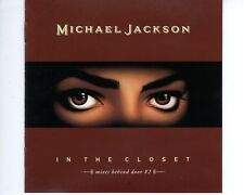 CD MICHAEL JACKSON	in the closet	JAPAN 1991 EX+	NO OBW (A1624)