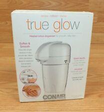 Genuine Conair True Glow Heated Lotion Dispenser - Soften & Smoothen Skin!