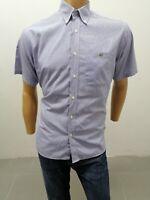 Camicia LACOSTE Uomo Taglia Size 40 Chemise Homme Shirt Man P7081