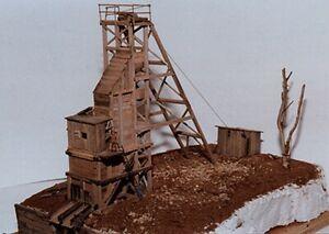 JV Models - Burnt River Mining Company -- Wood Kit - Scale 15 x 53' - HO