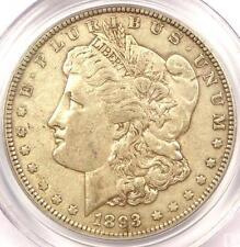 1893 Morgan Silver Dollar $1 - PCGS XF40 (EF40) - Rare Certified Key Date Coin