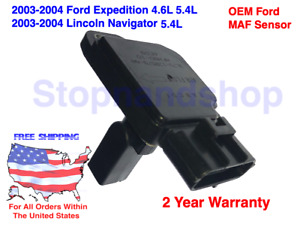 New OEM Mass Air Flow Sensor MAF for 03-04 Ford Expedition Lincoln Navigator