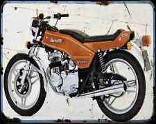 BENELLI 250 Quatro 75 A4 Metal Sign moto antigua añejada De