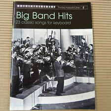 THE EASY KEYBOARD LIBRARY Big Band Hits  for Keyboard