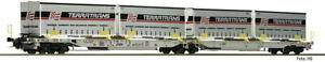 Fleischmann N 825011 Doppelcontainertragwagen T2000 Terra Trans Aae EP VI New °