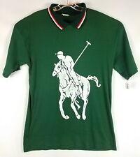 Vintage SS Cord Knit T Shirt Big Pony ORIGINAL APPAREL INC Men X-Large USA