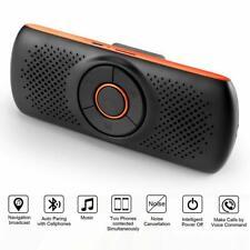 Wireless bluetooth 4.2 Car Kit Handsfree Speaker Phone MP3 Sun Visor Clip 2019