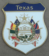 Texas Legislative Medal Of Honor Self Adhesive Metal Emblem Decal / Sticker (SM)