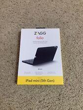 Zagg Folio Bluetooth Wireless Keyboard Case for iPad Mini 5 - Black