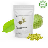 Graviola Capsules | 60 Vegan Capsules | 100% Natural And Organic | HIGH POTENCY